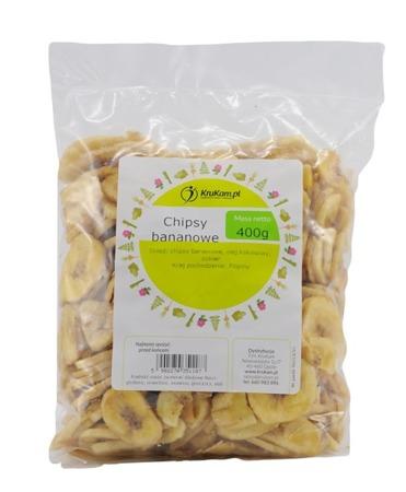 Chipsy bananowe 400g