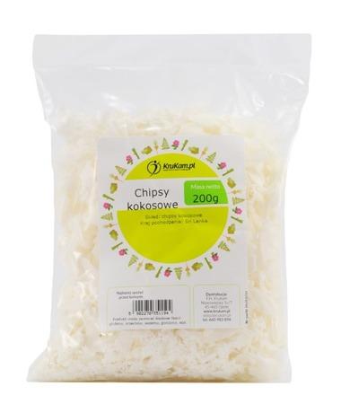 Chipsy kokosowe KOKOS 200g