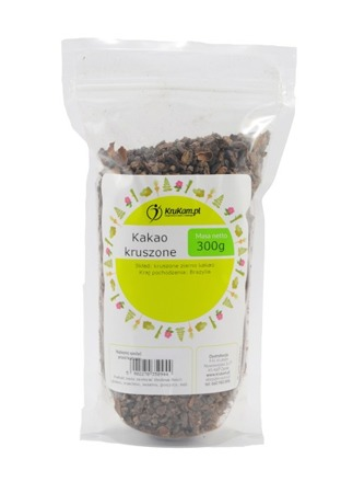 Kakao ziarno kakaowca kruszone 300g