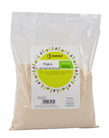 Mąka z amarantusa 500g BEZGLUTENOWA