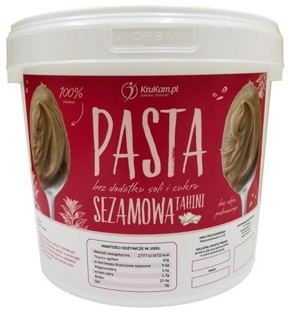 Pasta sezamowa Tahini wiadro 5kg