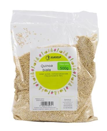 Quinoa - komosa ryżowa biała 500g
