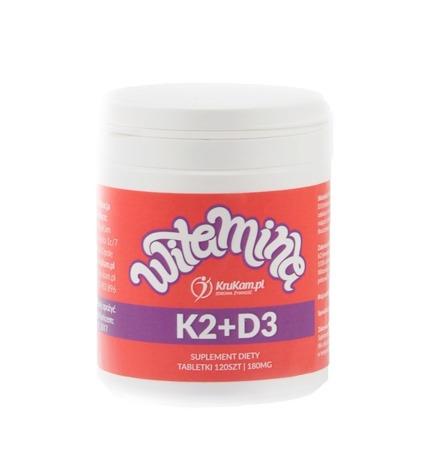 Witamina K2 + D3 120 tabletek